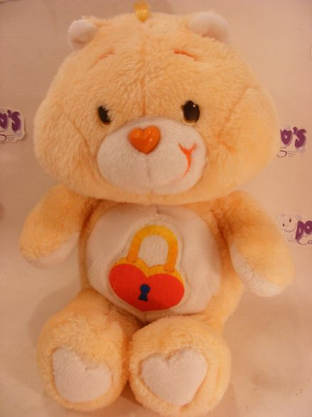 "VINTAGE 12"" SECRET CAREBEAR 80S CARE BEARS"